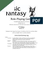 Basic Fantasy RPG Rules
