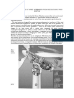 DYNAMIC FEATURES OF SPEED INCREASERS FROM MECHATRONIC WIND SYSTEM