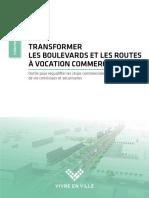 Transformer les boulevards et les routes à vocation commerciale