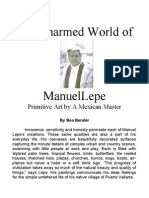 The Charmed World of MANUEL LEPE