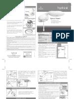 Manual Ducha Spacepower v7