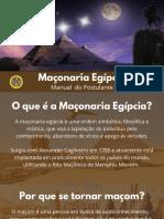 Maçonaria Egípcia