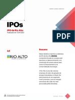 SUNO_Relatório_IPO_Rio Alto