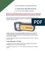 Circuito Stud Finder -