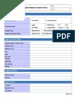 Supplier Master Creation Form 2.xls