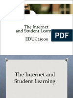 01 Internet & Student Learning 2011