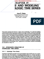 Salas (Maidment). 1993. Analysis and Modeling of Hydrologic Time Series