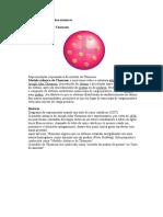 Evolução dos modelos atomicos = quimica 1