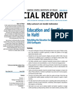 Education and Conflict  in Haiti - 2010