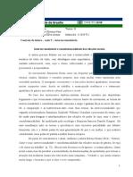Controle de leitura  - Interseccionalidade e Consubstancialidade