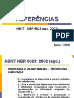 Fazer Referências - ABNT - NBR 6023 (ago. 2002)