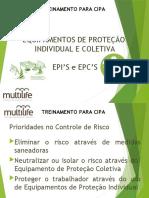 1-  EPI - Equipamentos de Protecao Individual