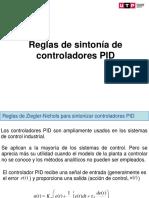 Clase14 Reglas de sintonía de controladores PID