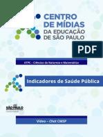 ATPC - 07.10.2021 - SLIDE 1 - INDICADORES DE SAÚDE PÚBLICA