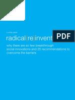 RadicalReinvention