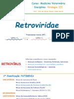 Retrovirus Medicina Veterinária