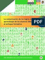 5 La Comunicacion de Los Logros de Aprendizaje de Los Alumnos Desde El Enfoque Formativo