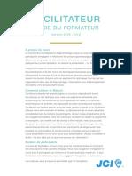 FRE- Facilitator – Trainers Manual