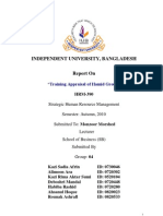 Training Appraisal of Hamid Group