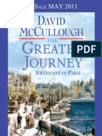 The Greater Journey by David McCullough