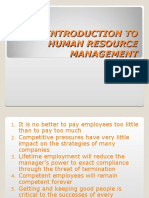Human Resource Management - 1
