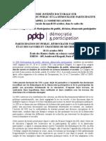 JD 2011-Appel à com