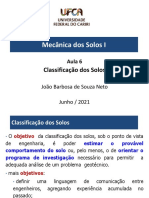 Aula 6 - Classificação dos Solos 2020-1