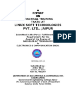 report on linux or vhdl