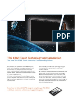 TRS STAR Touch Technology