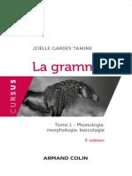 La Grammaire T1 - Phonologie, Morphologie, Lexicologie - 5e Éd. by Joëlle Gardes Tamine (Z-lib.org)