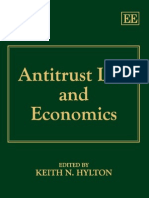 Anti Trust Law and Economics