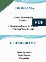 hemograma e anemias