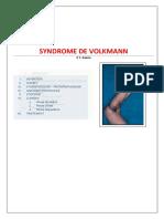 Syndrome de VOLKMAN Cours Key 2020(1)