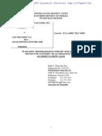 Atlas Memorandum in Support of Motion for Contempt