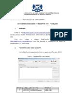NI Nº 001 (descarregando dados do trimble r6)