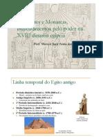 Sacerdotes e Monarcas, enfrentamentos pelo poder na XVIII dinastia egípcia