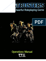 GhostBusters RPG Operations Manual