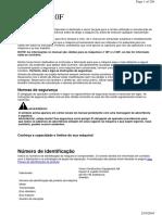 Manual de Operação Carregadeira Volvo L110F e L120F