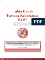 Fakta Ilmiah Tentang Keharaman Babi by Yoga Permana Wijaya