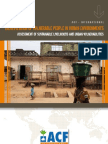 Identification of Vulnerable People in Urban Environments