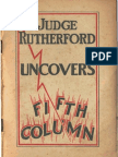 1940 Rutherford Uncovers Fifth Column