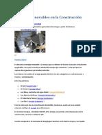 Energías Renovables en la Construcción