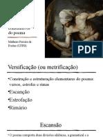 Elementos constitutivos do poema