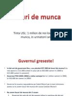 Solutiile PSD pentru crearea de noi locuri de munca