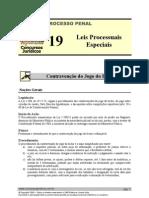 Leis Processuais Especiais