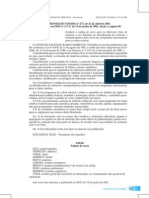 CONAMA Res. 275-2001 Codigo de Cores