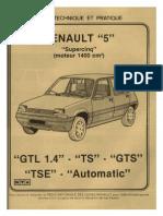 Estudio Tecnico Renault Super 5 (Frances)
