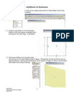 SolidWorks for Sheet Metal