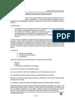 ADMON. DE OPERACIONES