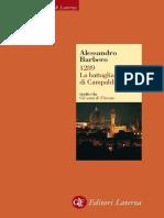 1289. La Battaglia Di Campaldino by Alessandro Barbero